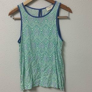 Everly sheer sleeveless top size S